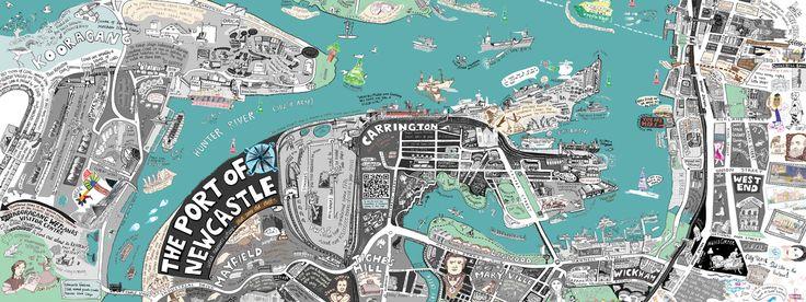 Port of Newcastle, Australia by Liz Anelli