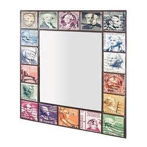 Suche Spiegel briefmarken style metallrahmen mallorca. Ansichten 141418.