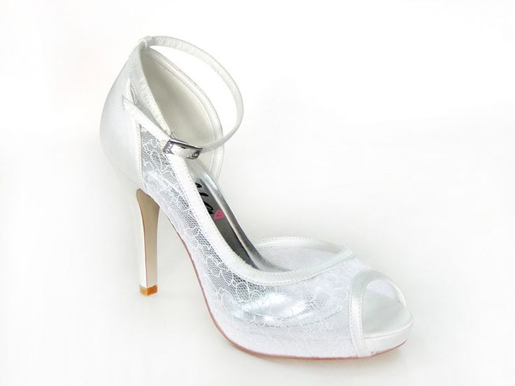 #AnellaWeddingShoes Elise Style www.weddingshoes.co.za Available September 2014 Can be dyed to any colour!