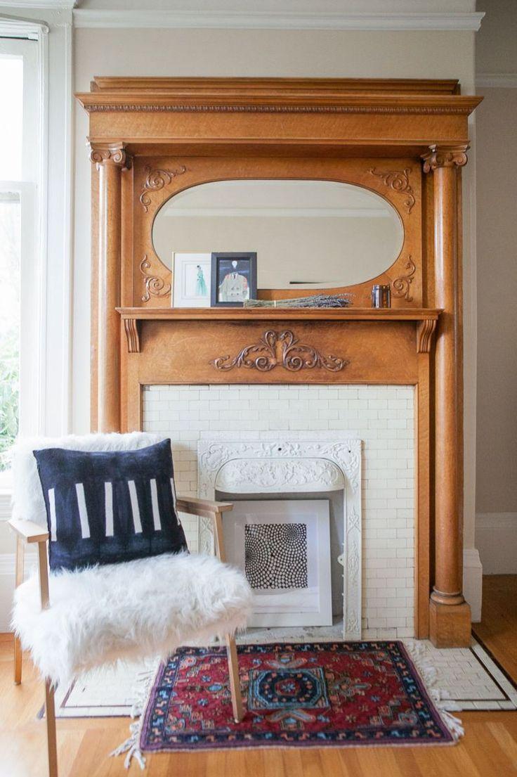 Best  Vintage Fireplace Ideas On Pinterest - Vintage furniture san francisco