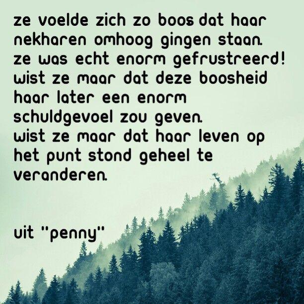Hiermee begint het verhaal over Penny...