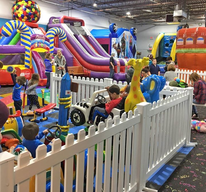 Friday Family Fun Night is growing at Party Magic! If you're looking for an easy end-of-week activity for the kids join us THIS FRIDAY -  doors open at 3pm.   Our fun center is perfect for Toddlers through age 11. Enjoy our expanded fun center with brand new inflatables arcade games redemption prizes snack bar Toddler Town and much more!  FUN FOOD SPECIALS start at 5pm:  $1 Hotdogs $1 Drinks and $1 Popcorn (while supplies last).  Cost is just $12.50/child (includes 5 game tokens) and only…