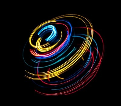Light Spin: Light Painting, Painting Photography, Light Spin, Coloured Lines