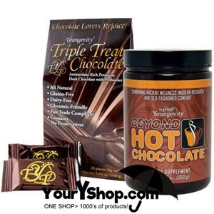 YourYshop.com: Youngevity Healthy Chocolate-yes please!!
