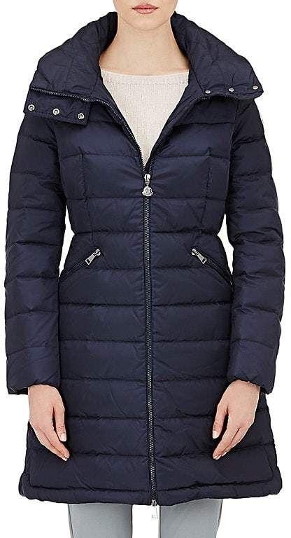 83aaea6b18c5 Women s Down-Quilted Flammette Coat  pockets logo appliqu