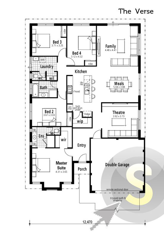 52 Best Smart Home Floorplans Images On Pinterest