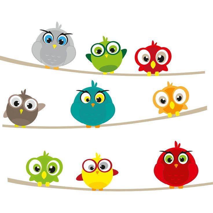 Duvar Stickerı - Kuşlar #duvarsticker #dekorasyon #dekoratif #çocukodası #wallsticker #sticker #kidsroom #roomdecoration #walldecoration #duvardekorasyonu