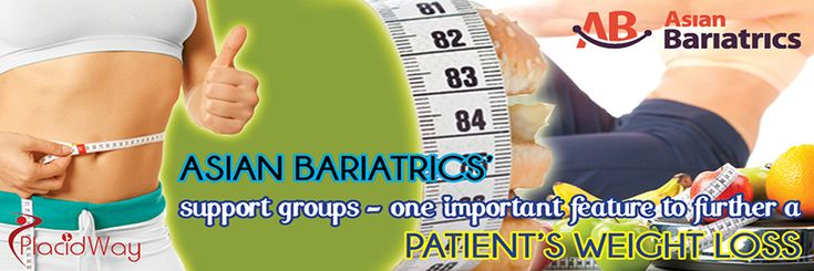 #WeightLossSurgery in India Asian Bariatrics' support groups – one important feature to further a patient's weight loss