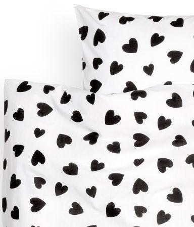 Hearts Duvet Cover Set