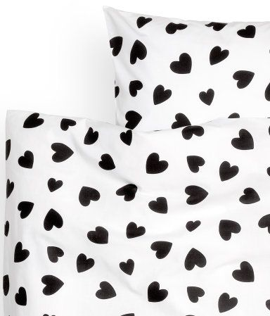Hearts Duvet Cover Set