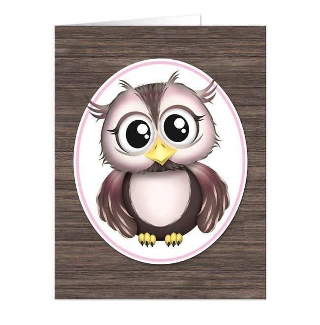 Thank you, Benjamin in North Carolina, for your purchase of these Adorable Owl Pink and Brown Note Cards. (5/27/2017)