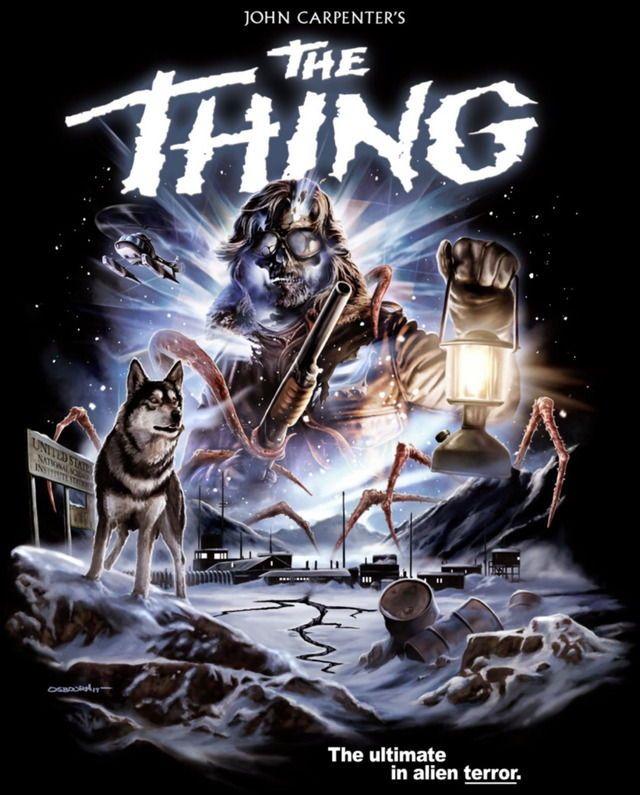 """John Carpenter's """"The Thing"""" (1982) Artwork. #horror ..."""