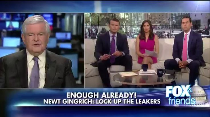 BOOM! Newt Gingrich: 'You Start Putting a Few People in Jail, You'll See the Leaks Dry Up' (VIDEO)