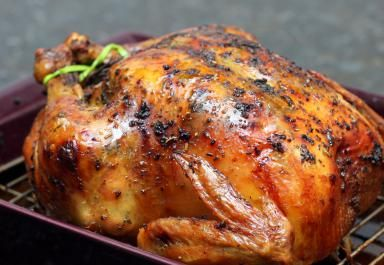 How to Make a Perfect Herb Roasted Chicken: Roasted Chicken With Herbs