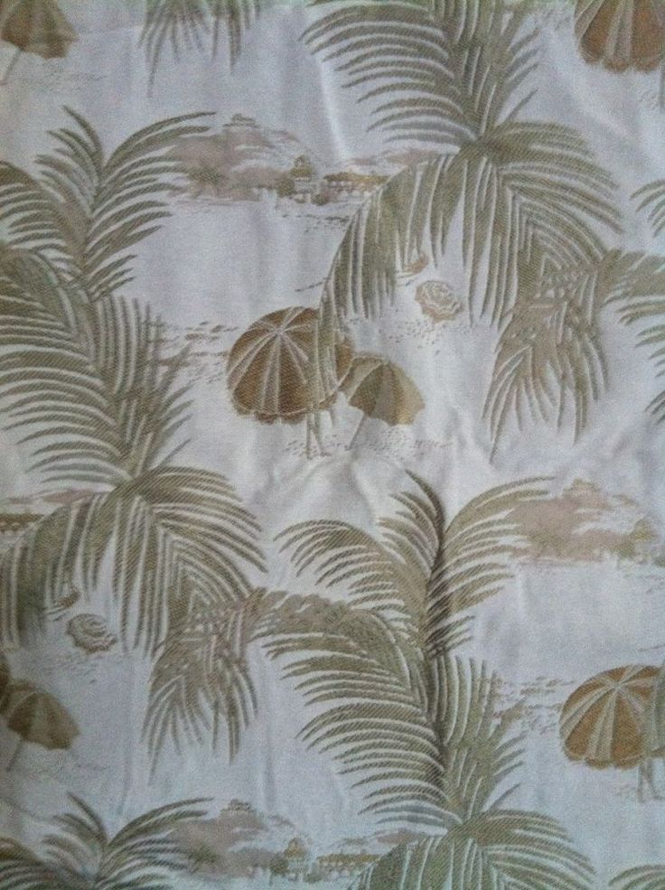 Kravet Tropical Tapestry Upholstery Fabric 1 1/2 yards