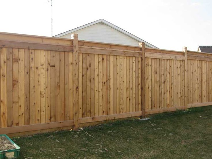 Best Diy Backyard Fence Ideas On Pinterest Horizontal Fence - 5 backyard fence types