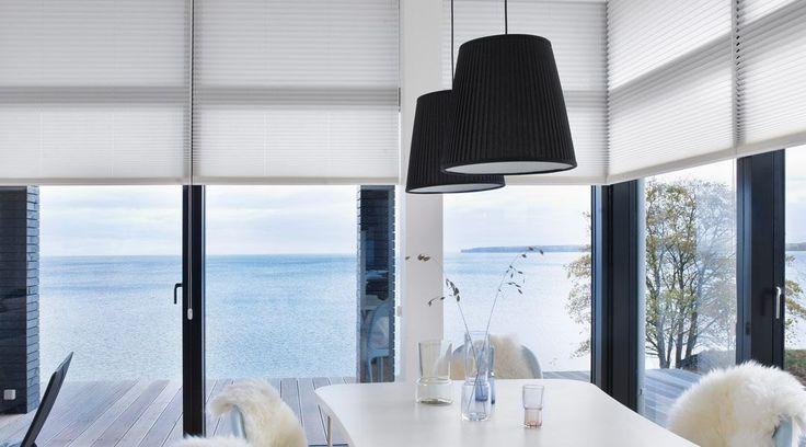 Pleated window shades| Luxaflex® Verasol pleated blinds