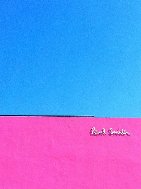 Paul Smith store on Melrose, LA