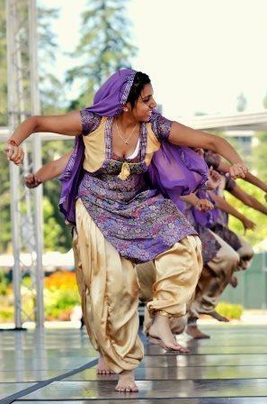 Indian Bhangra Dance