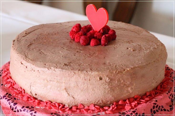 Kirsch-Vanille-Torte und Himbeere-Schoko-Torte...