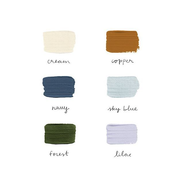 Rainy day color palette ☁️ #jbpcolorpalette