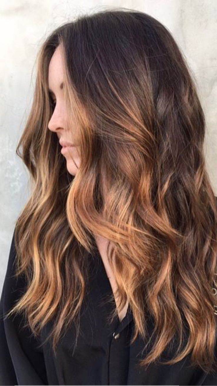 What To Ask For Warm Caramel Highlights Through A