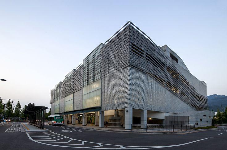 Dobongsan Car Park  Jae Kim  CoDeAU + Namoa Architects