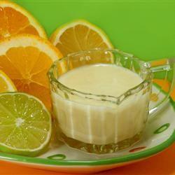 Citrus Salad Dressing  Recipe.  http://www.annabelchaffer.com/categories/Dining-Accessories/