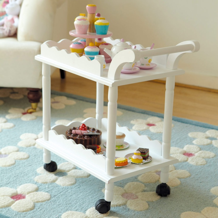 Time for Tea Toy Cake Trolley We're on your side Mummy We've designed this little trolley