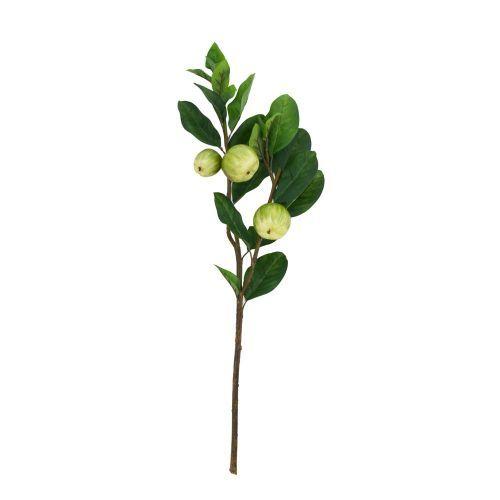 Decoratiuni - Crenguta mar verde artificial, 78 cm la numai 9.00 RON