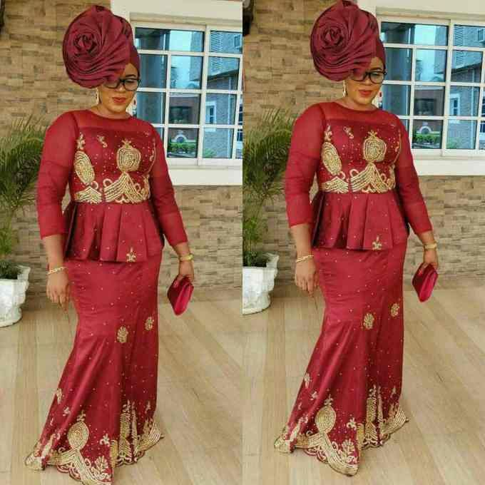 aso ebi dress