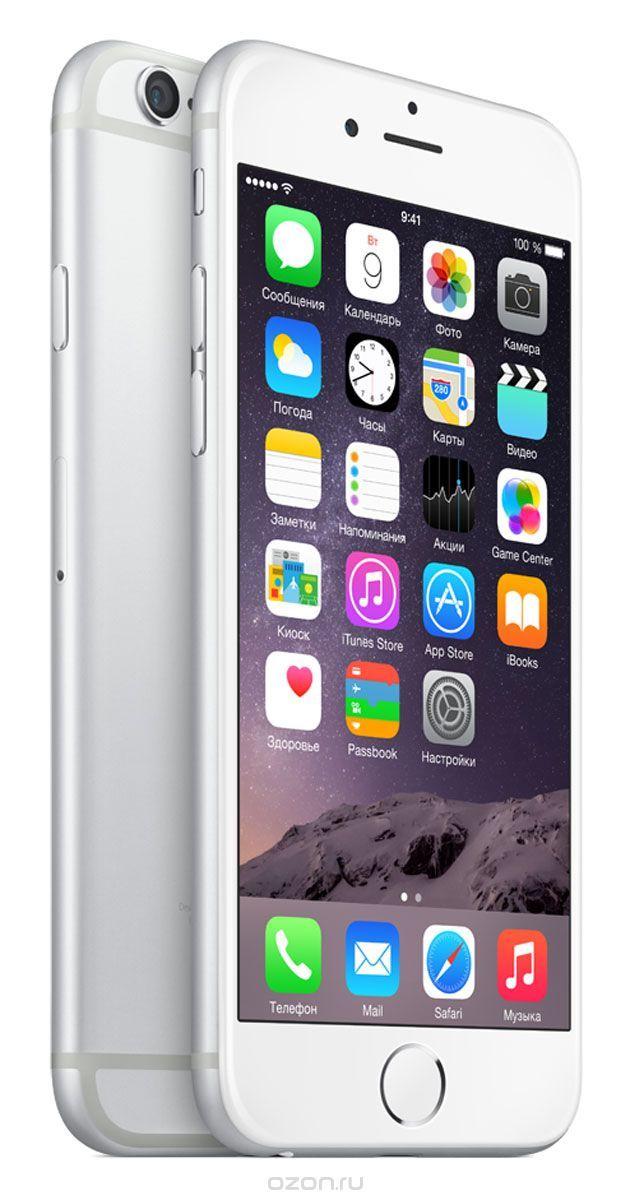 Apple iPhone 6 64GB, Silver - купить в разделе электроника apple iphone 6 64gb, silver по лучшей цене от интернет-магазина OZON.ru