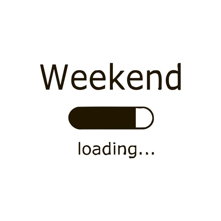 Weekend Loading Quote Vinyl Wall Art Wall Art Decal And