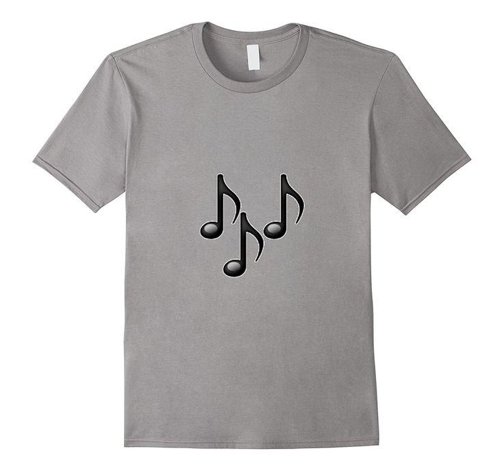Music Emoji T-Shirt Musical Notes La La La Instrument Sing