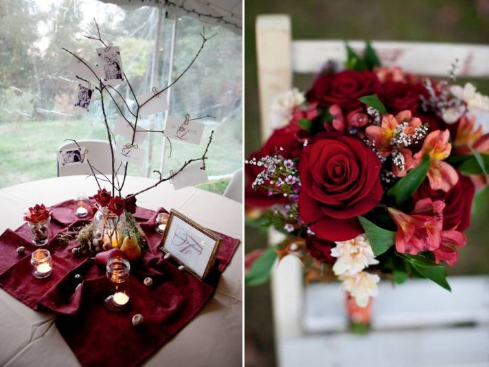 Autumn Wedding In New Hampshire Emily And Jay Outdoor ReceptionWedding
