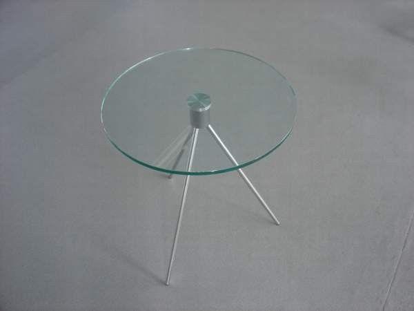 Coffee Table_Triplicate Polished Base