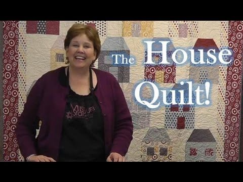 I'm in love with this adorable quilt. Thanks Jenny and Natalie from the Missouri Star Quilt Company for making this easy tutorial!!
