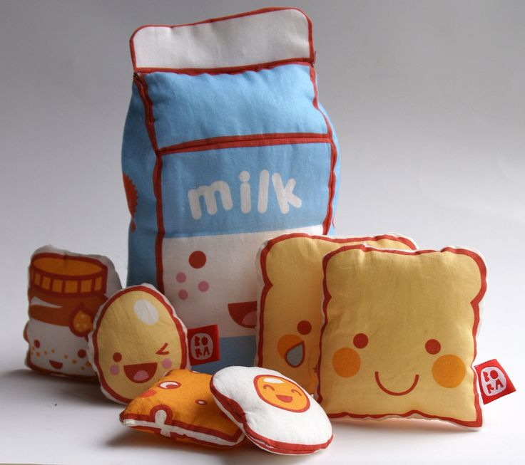 Kawaii Kitchen plushie toys | Flickr - Photo Sharing!