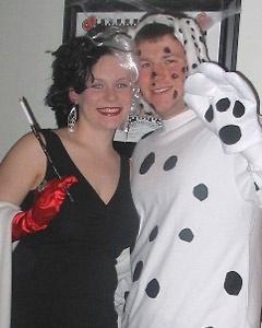 couples costume contest winners - Cruella Deville Halloween Costume Ideas