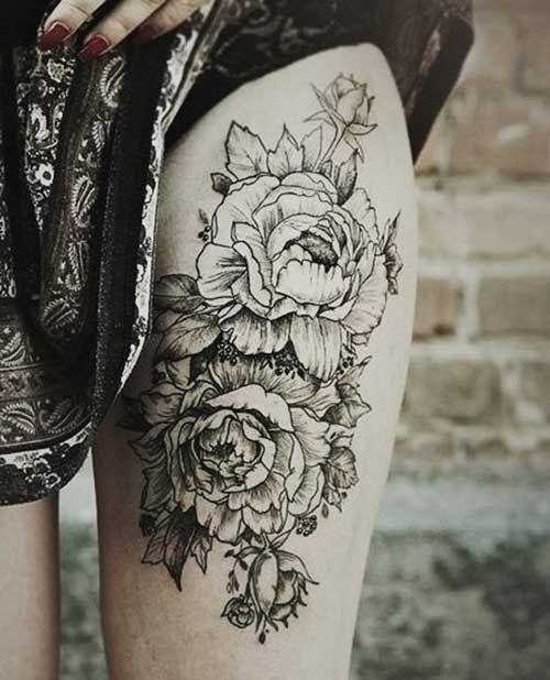 17 Best ideas about Women Leg Tattoos on Pinterest | Full