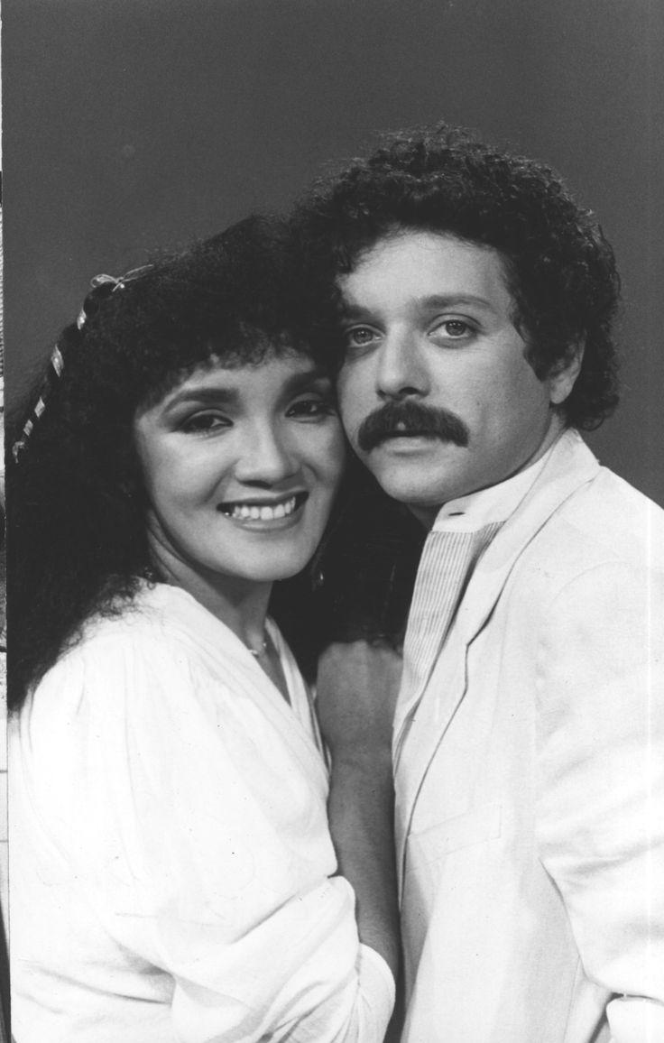 Caridad Canelon y Orlando Urdaneta en la telenovela Elisabeth,trasmitida por RCTV en los años 80s
