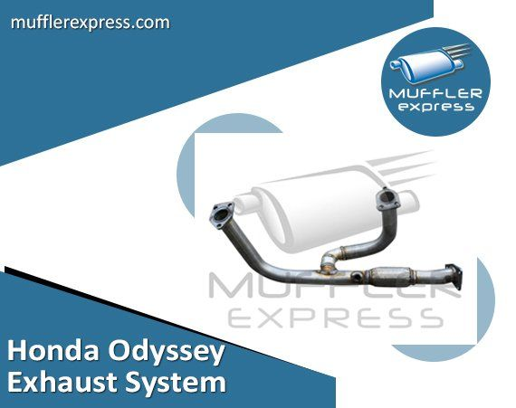 OEM grade Honda Odyssey #exhaustsystem spares including muffler & pipe for 1999–2010 models are available Now