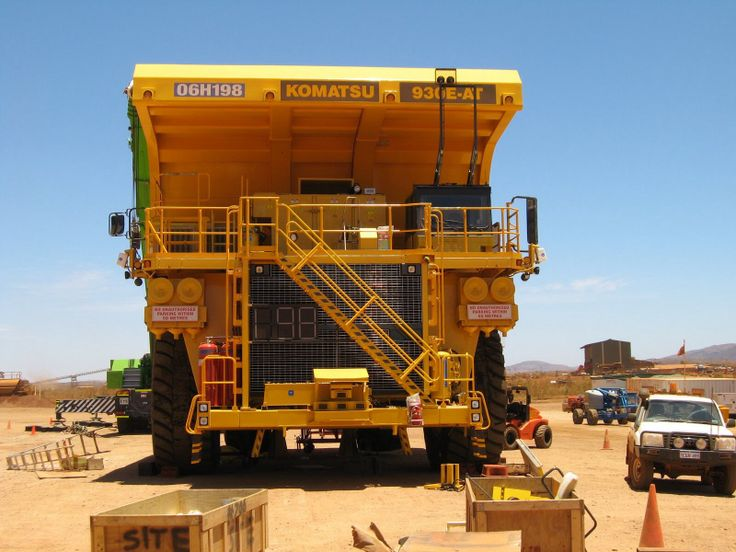 Komatsu 930e Radio Control Haul Truck Biggest Of The Big