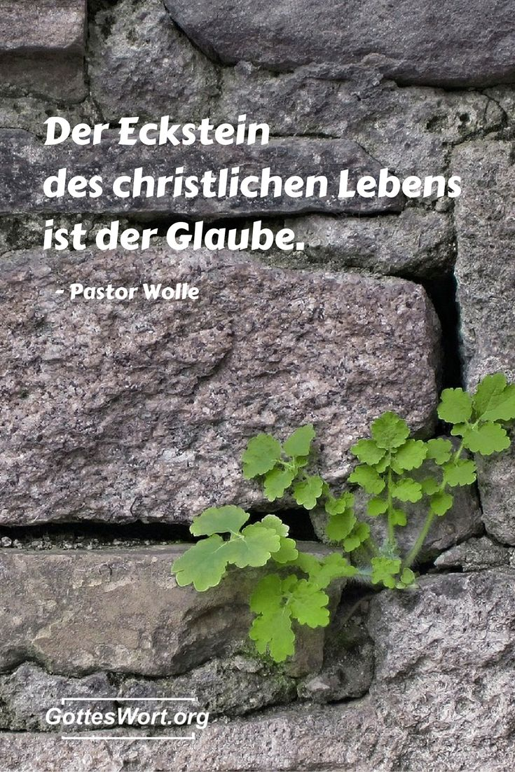 Der Eckstein des Christlichen Lebens  ... Mehr: http://www.gottes-wort.com/berichte.html