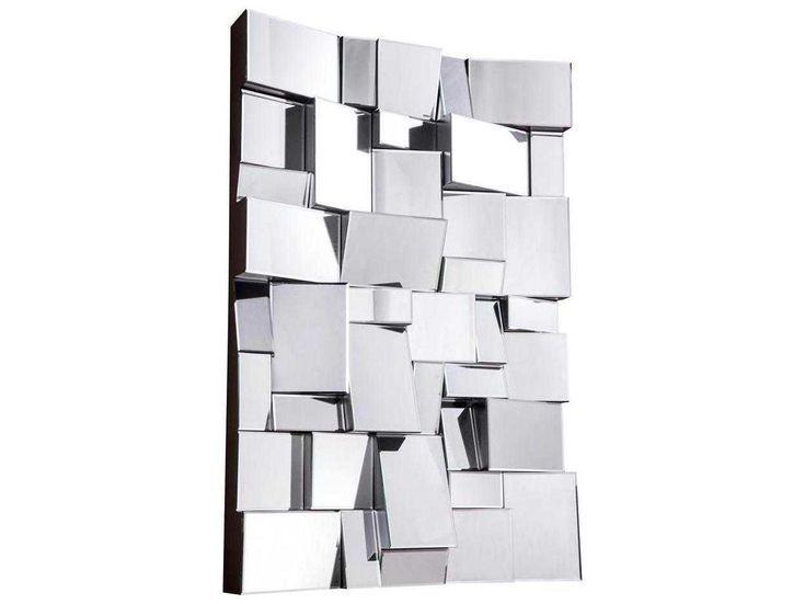 Elegant Lighting Modern 31 5 W X 47 H Clear Wall Mirror 315w