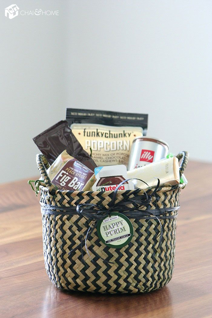 The 'Coffee Break' Purim Basket