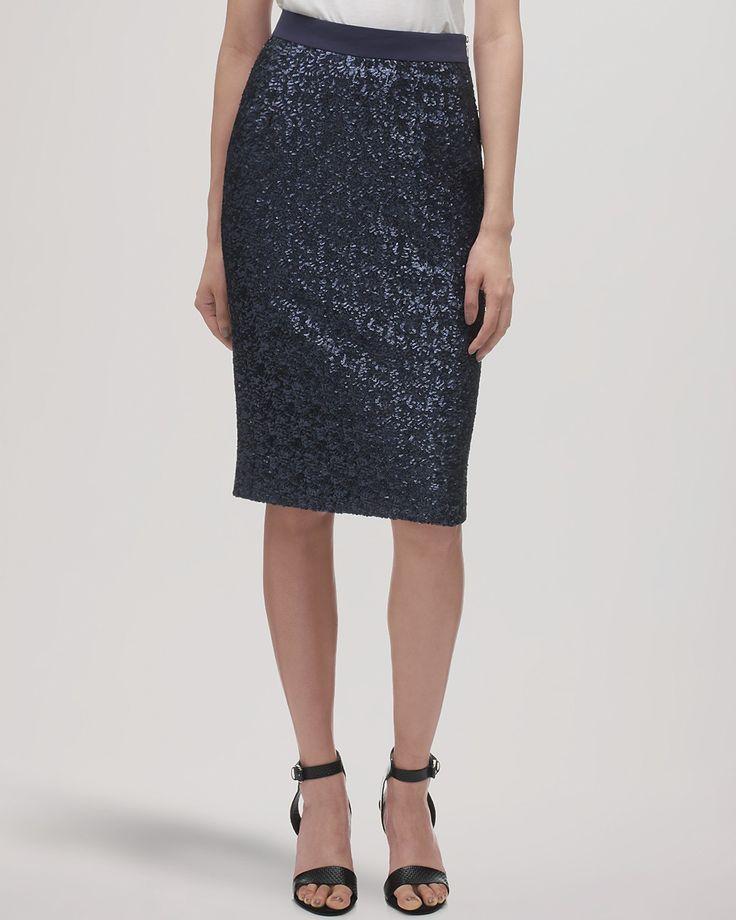 Whistles Skirt - Delphine Sequin   Bloomingdale's