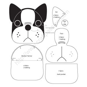 Puppy Coin Purse – Boston Terrier