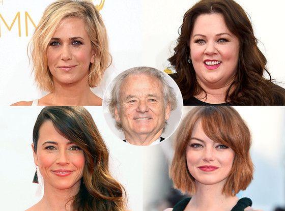 Bill Murray Handpicks His Dream Female Ghostbusters Cast: Melissa McCarthy, Emma Stone and More!