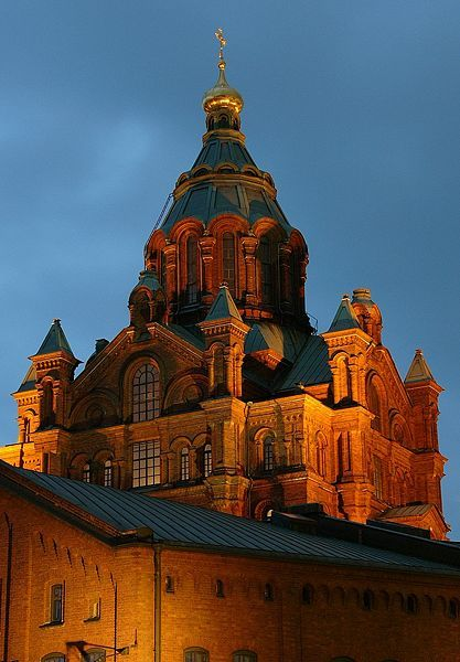 Uspenski Cathedral, Helsinki, Finland. Our tips for things to do in Helsinki: http://www.europealacarte.co.uk/blog/2011/08/15/what-to-do-helsinki/